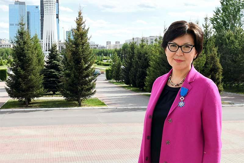 Айгуль Куспан назначена послом «Women Political Leaders» в Казахстане