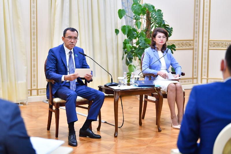 Активнее развивать научную журналистику в Казахстане предложил Маулен Ашимбаев