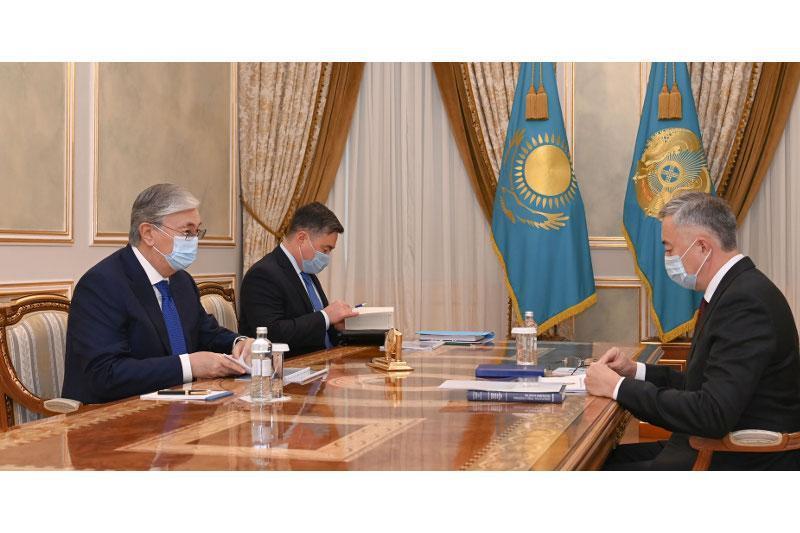 President Tokayev receives Serik Zhumangarin
