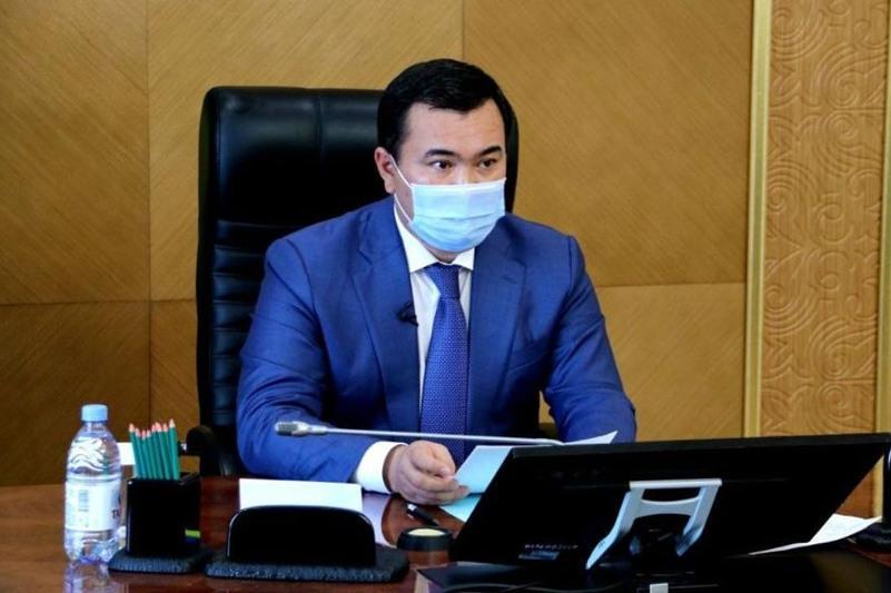 Жеңіс Қасымбек Қарағанды облысының қоғамдық кеңесі алдында есеп берді