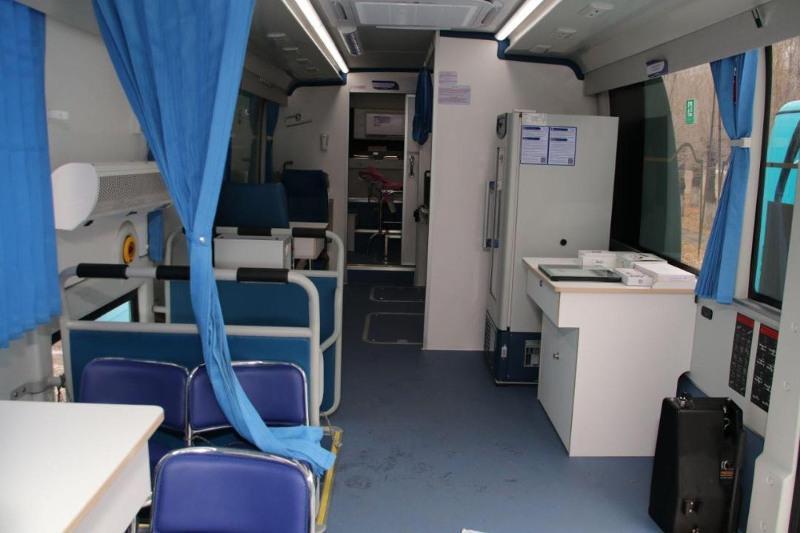 Передвижные медкомплексы работают в Карагандинской области