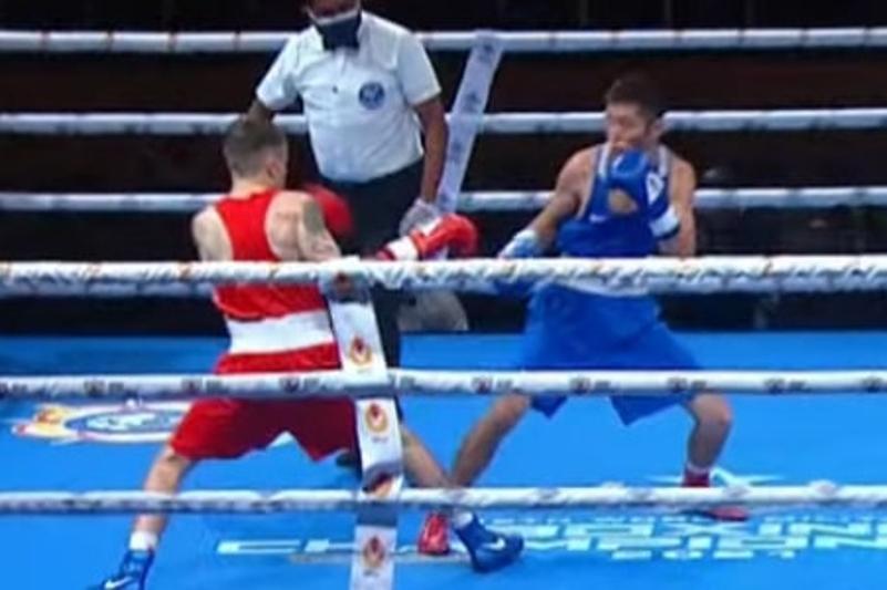Казахстанский боксер сокрушил белоруса на ЧМ среди военнослужащих