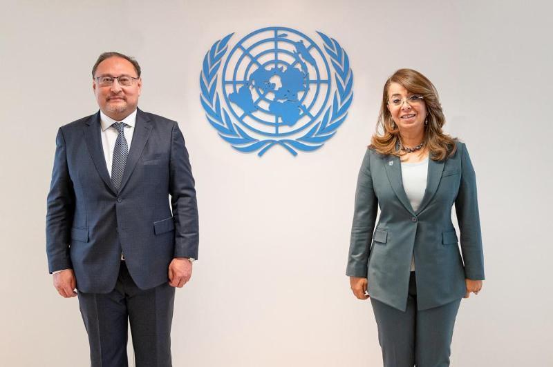 外交部副部长会见联合国毒品和犯罪问题办公室执行主任