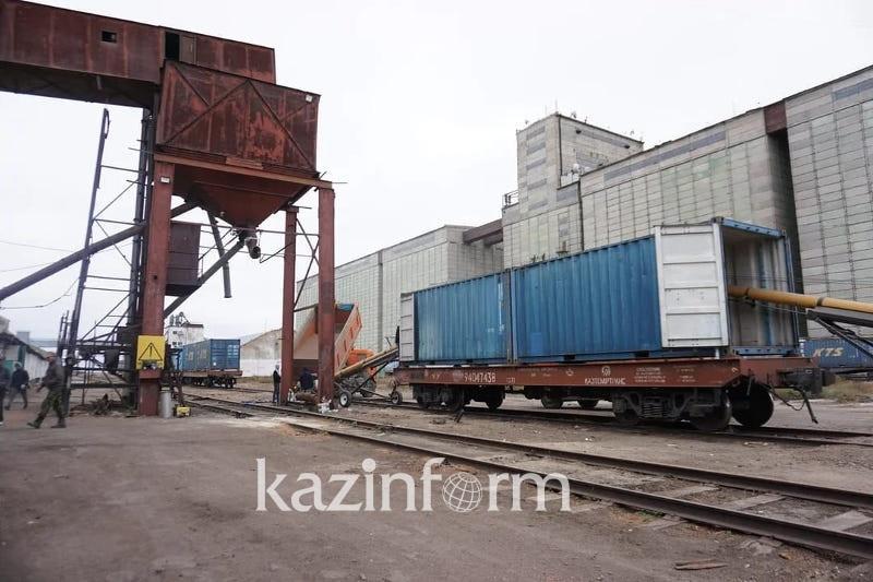Qazaqstannan Túrkııaǵa 600 konteıner jasymyq ekportalady