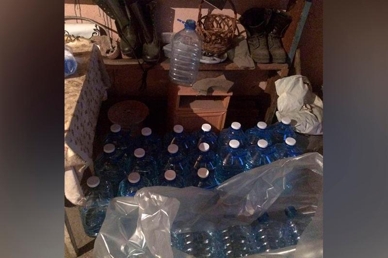 Цех по производству алкоголя в гараже устроила акмолинка