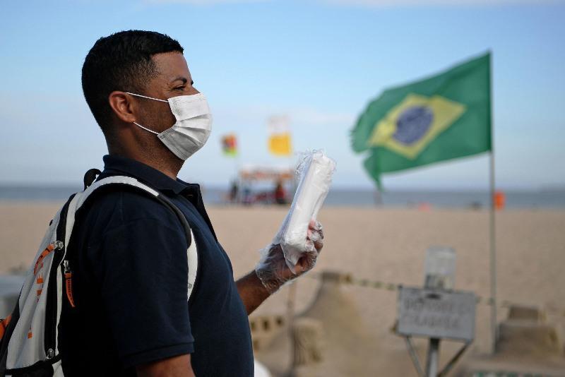 COVID-19: Brazil has 21.24 mi cases, 590.9k deaths