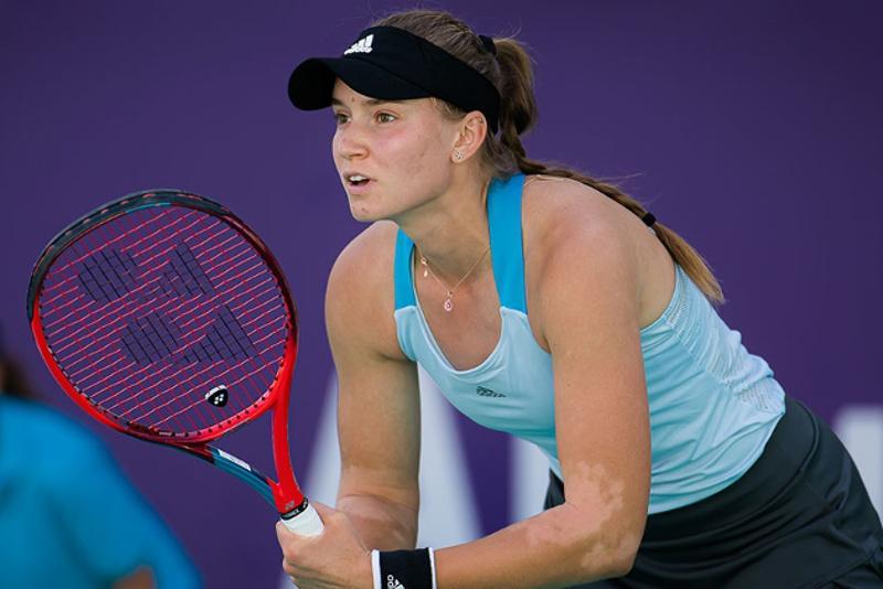 Теннис: Елена Рыбакина Острава турнирінің екінші айналымына шықты