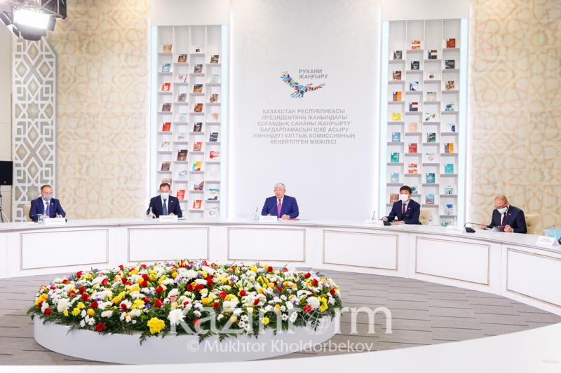 Крымбек Кушербаев: Гуманитарная сфера в РК вышла на новый уровень