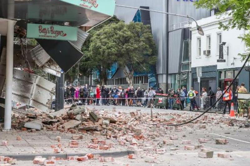Землетрясение магнитудой 5,9 зафиксировали вблизи Мельбурна