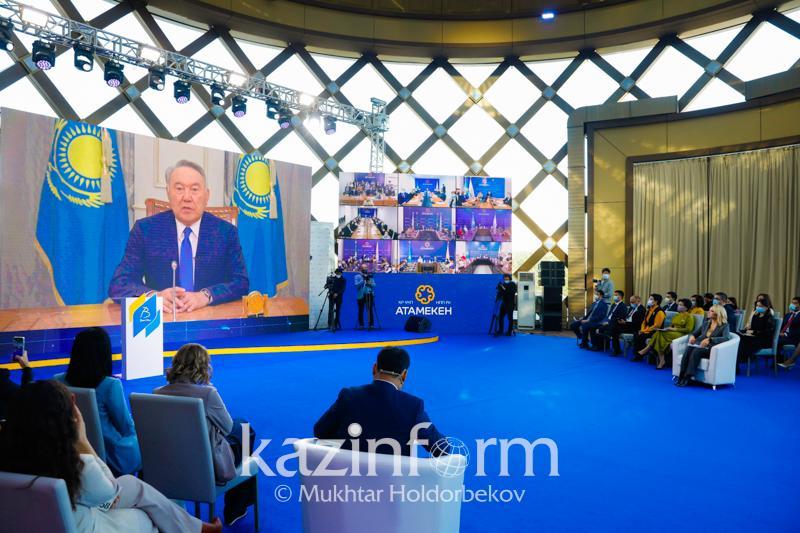 Нурсултан Назарбаев высоко оценил проект «Бастау Бизнес»