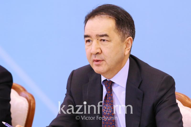 Cоблюдать меры эпидбезопасности призвал алматинцев Бакытжан Сагинтаев