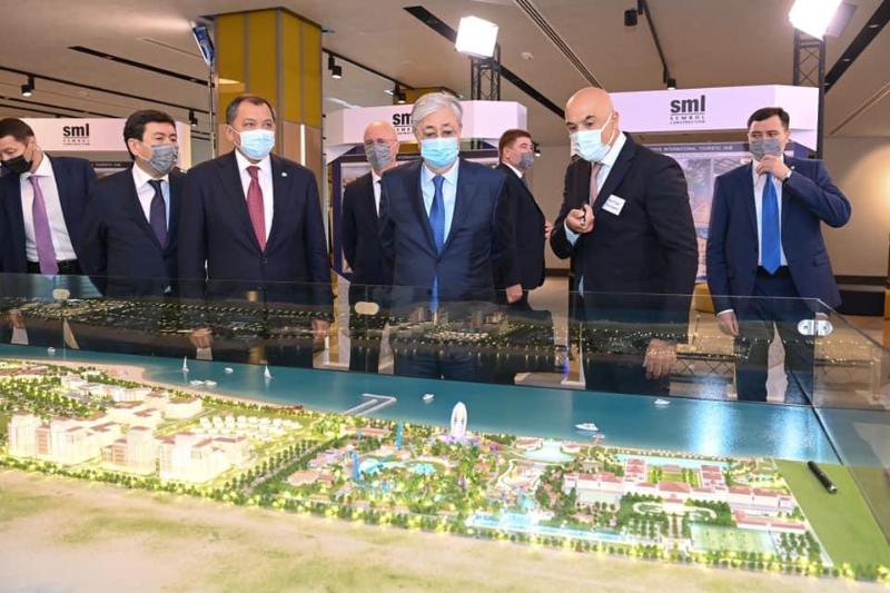 Опубликован видеообзор первого дня рабочего визита Президента в Мангистаускую область