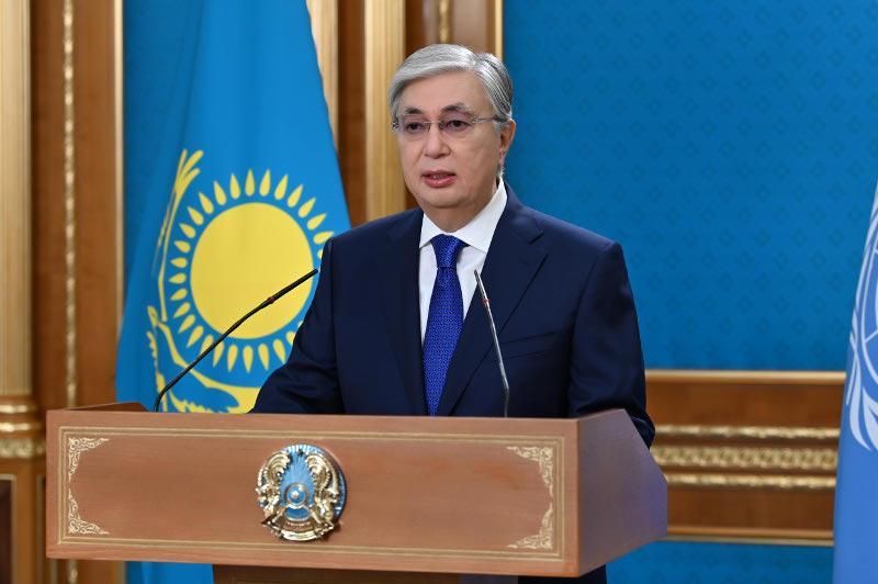 Касым-Жомарт Токаев выступил на Общих дебатах 76-й сессии Генеральной Ассамблеи ООН