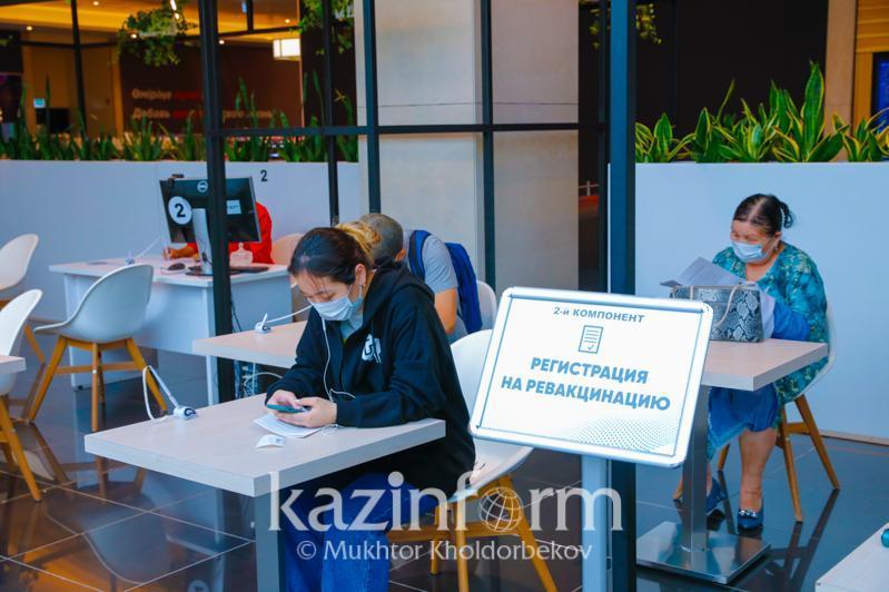 Around 57% of Kokshetau's population received 1st COVID-19 vaccine jab
