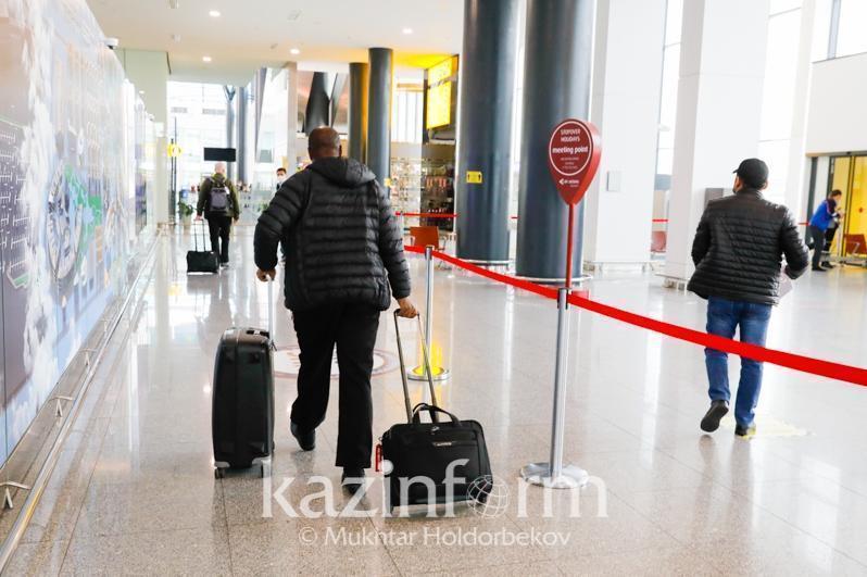 5100多名旅客搭乘41个航班抵达哈国