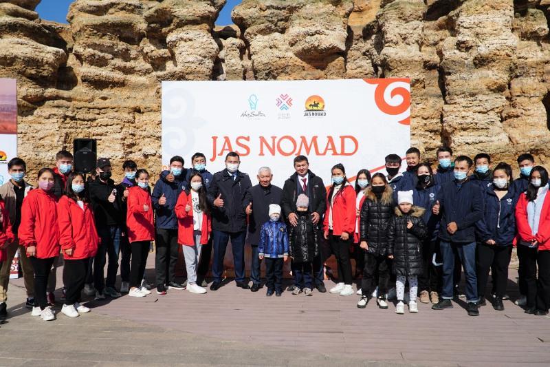Посвященный возрождению забытых традиций проект Jas nomad стартовал в Нур-Султане