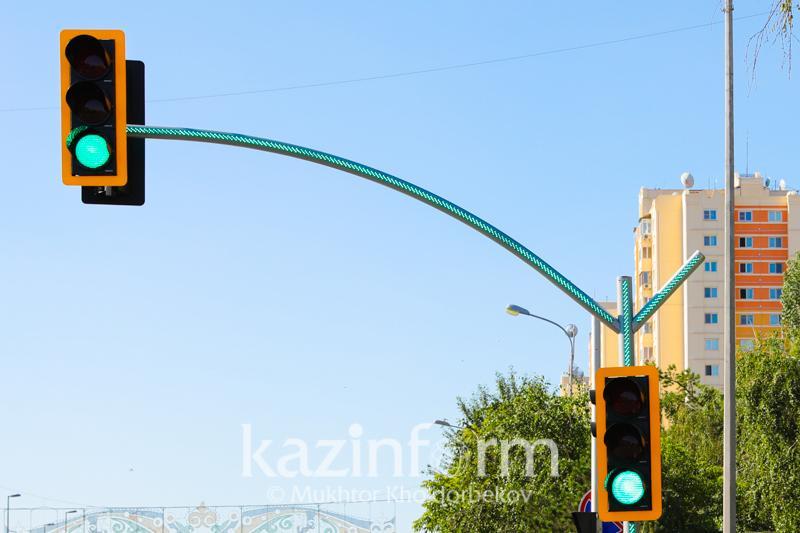 Продолжительность горения зеленого и желтого сигналов светофораувеличилив Нур-Султане