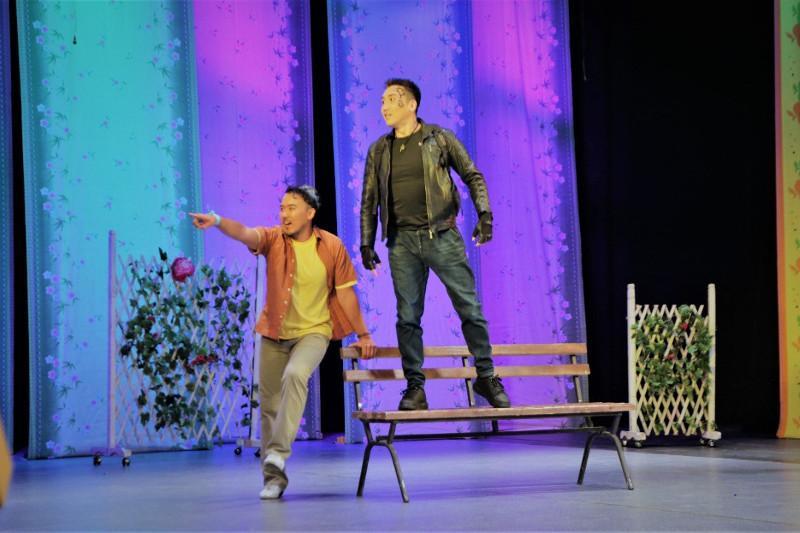 «Жастар театры» представил жителям столицы новую постановку