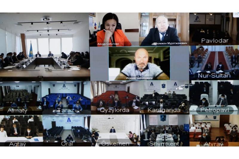 Прошло заседание Общественного совета Агентства Республики Казахстан по противодействию коррупции
