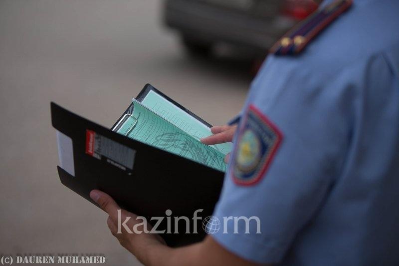 Пожар в центре Алматы расследует полиция