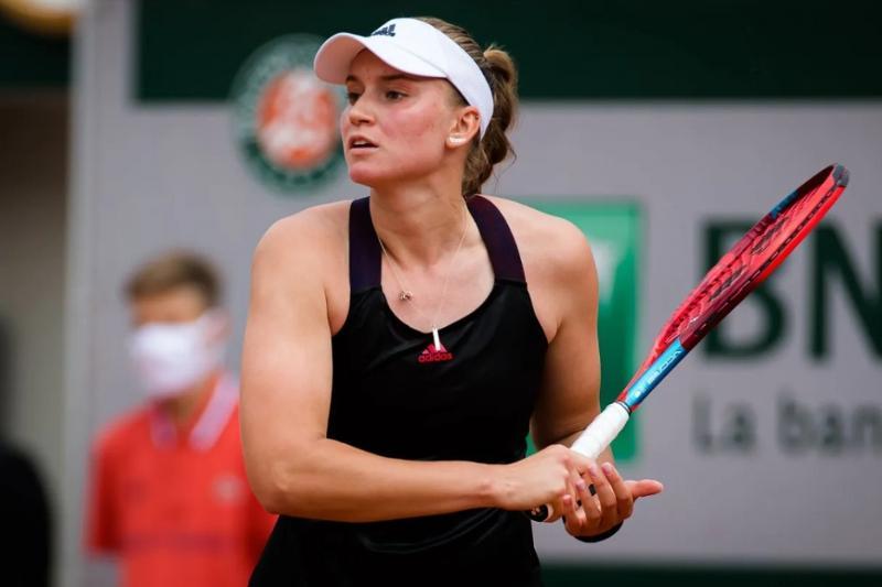 Теннис: Елена Рыбакина Острава турнирінің ширек финалына шықты