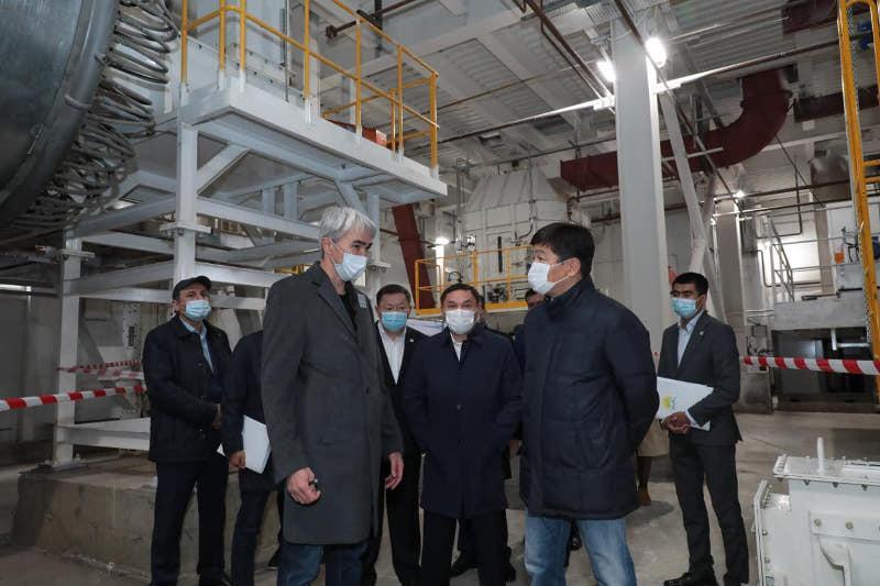 Бауыржан Байбек в Кокшетау ознакомился с реализацией предвыборной программы Nur Otan