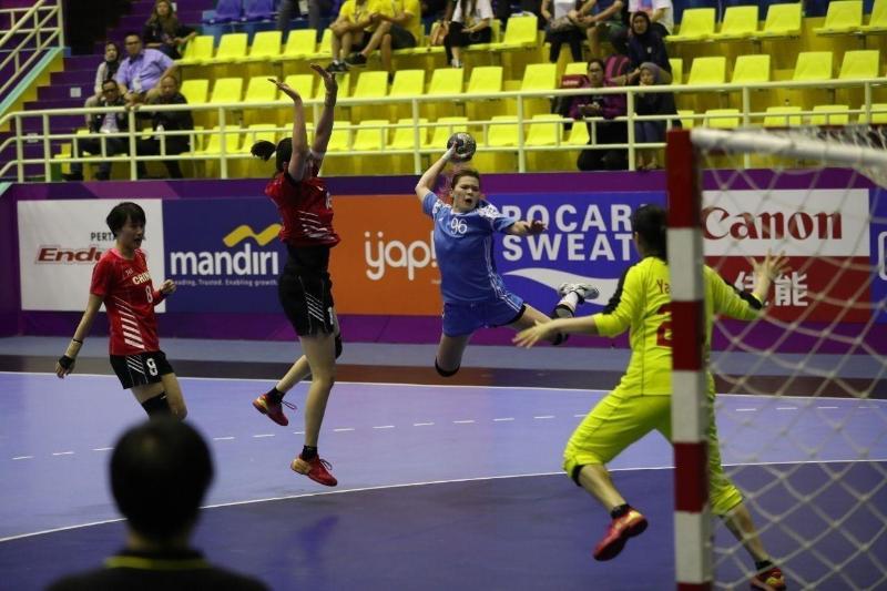 哈萨克斯坦女子手球队闯入亚锦赛半决赛