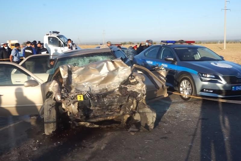 Смертельное ДТП: что произошло на трассе в Жамбылской области