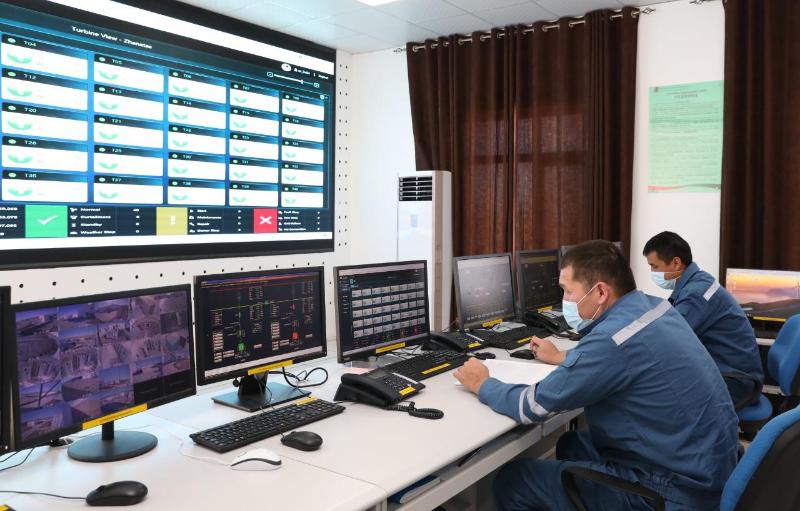 Жанатасская ВЭС позволит ликвидировать дефицит электроэнергии в южном Казахстане