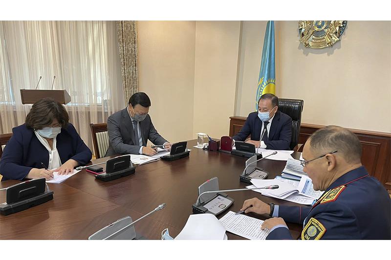 Премьер-Министрдің орынбасары есірткі қылмысымен күрес бойынша кеңес өткізді
