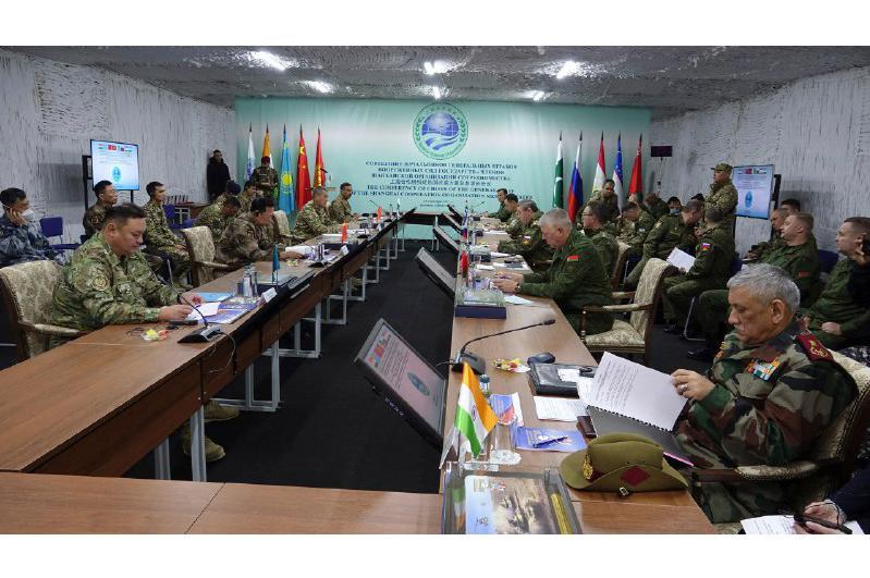Начальники генштабов государств-членов ШОС обсудили обстановку в мире