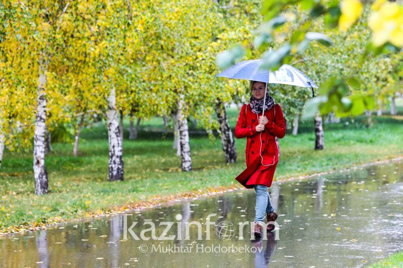 Ненастная погода будет в Казахстане 25-27 сентября