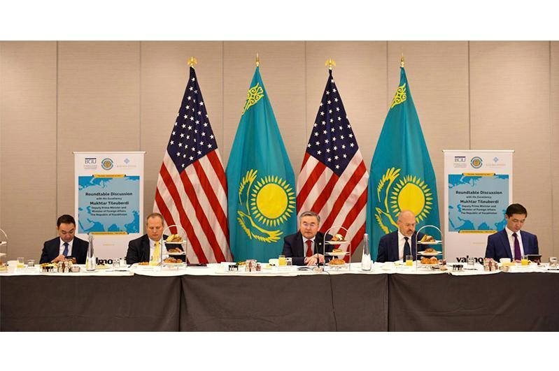 外交部:美国企业有意投资哈萨克斯坦