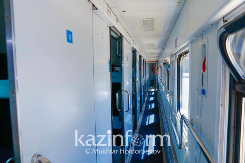 Нетрезвого мужчину сняли с поезда в Жамбылской области