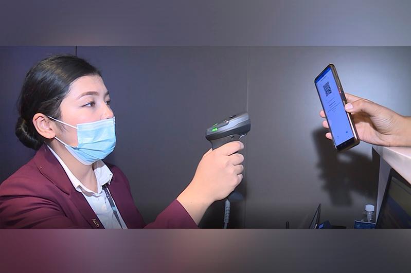 Цифровое удостоверение личности теперь можно использовать в аэропорту Туркестана