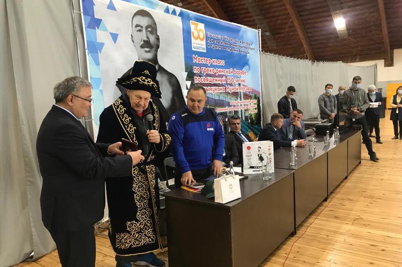 Белорусские атлеты дали показательные выступления в честь Кажымукана Мунайтпасова