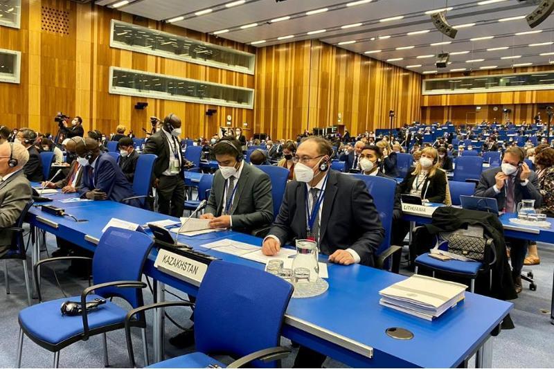 Вена шаҳрида МАГАТЭ Бош конференциясининг 65-йиллик сессияси бўлиб ўтмоқда