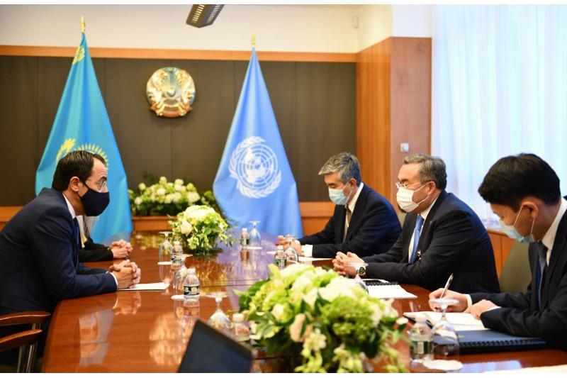 Глава МИД Казахстана провел встречи с руководством ООН