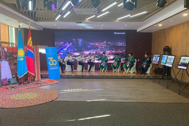 Mongolia hosts photo, book expo dated to Kazakhstan's 30thanniversary of Independence