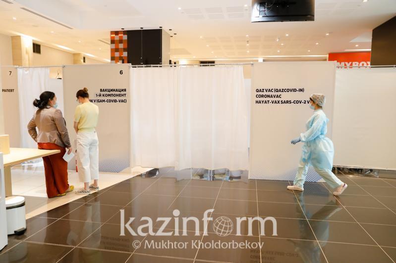 哈萨克斯坦接种新冠疫苗人数达748万