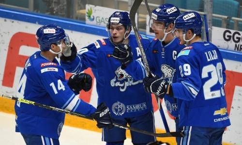 «Барыс»  прервал серию поражений в КХЛ