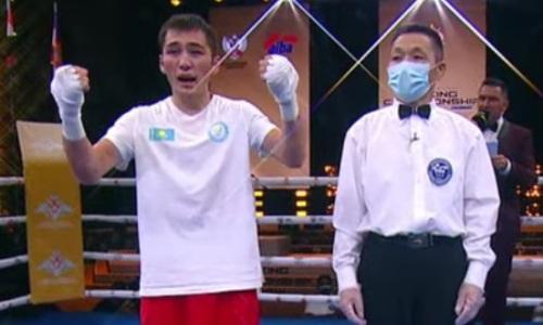 Казахстанский боксер побил чемпиона России и выиграл второе «золото» на ЧМ среди военнослужащих