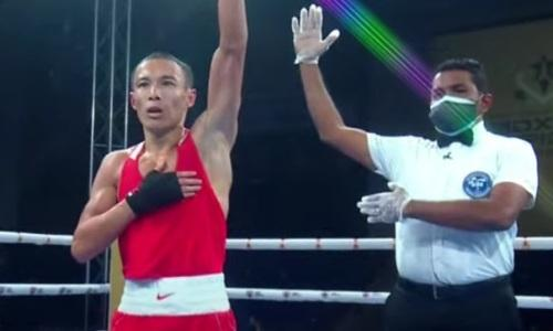 Казахстанец выиграл «золото» на ЧМ по боксу среди военнослужащих