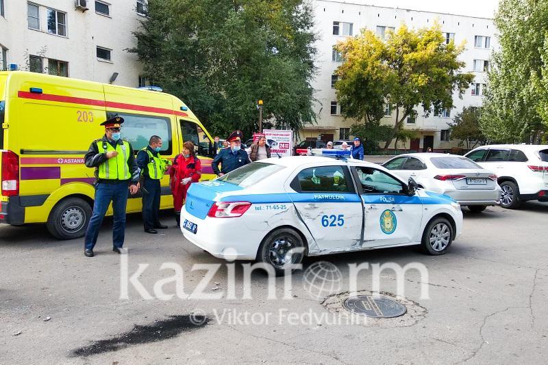 Девять авто пострадали в результате действий угонщика в Нур-Султане