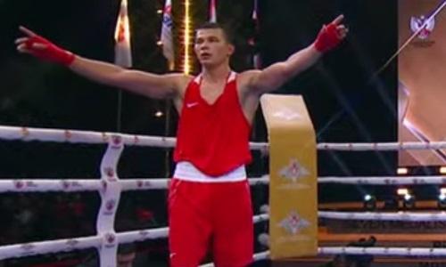 Тимур Нурсеитов победил чемпиона Европы в финале ЧМ-2021 среди военнослужащих