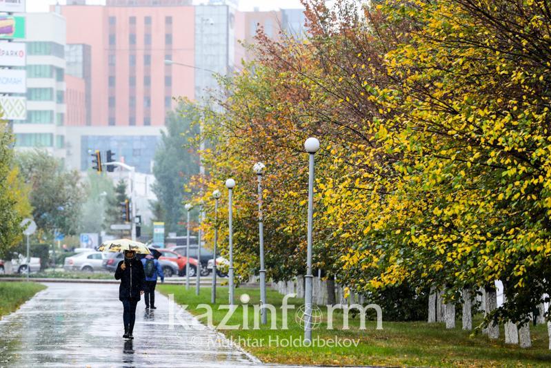Неустойчивую погоду прогнозируют 26 сентября в Казахстане