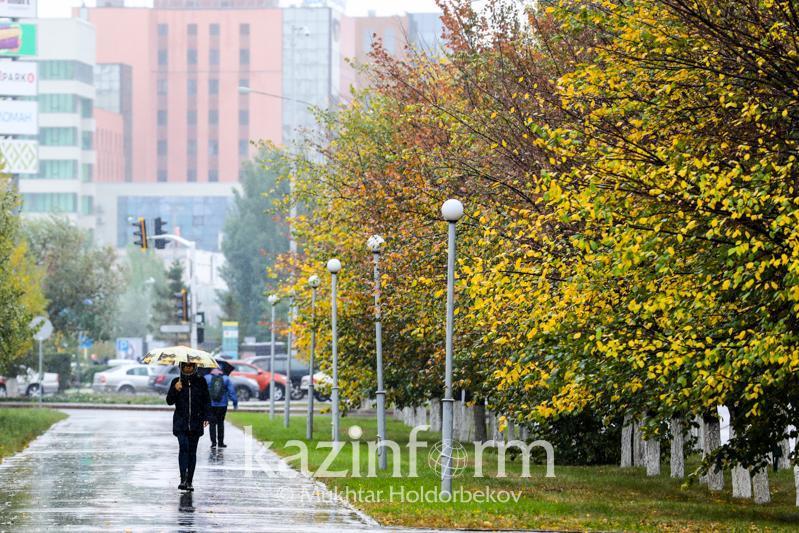 Inclement weather forecast for Kazakhstan Sept 26