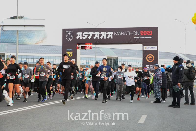 В столице проходит Astana Marathon 2021