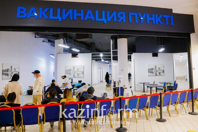 Over 7.5 mln Kazakhstanis get 1stjab of anti-COVID vaccine