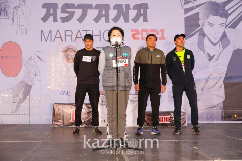 Ақтоты Райымқұлова Astana Marathon туралы: «Қола» мәртебесі бар ТМД-дағы жалғыз марафон